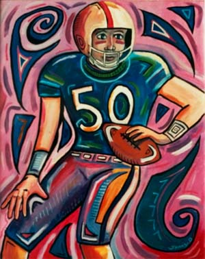 Football Player #50 by Jonny Olsen